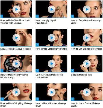 Professional Makeup Tricks poster