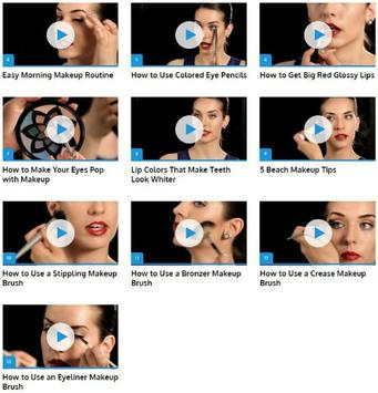 Professional Makeup Tricks screenshot 1