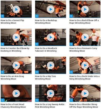 Professional Wrestling Moves screenshot 1