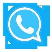 وااتس اب ازرق بللس Prank icon