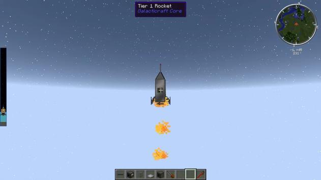 GalacticaCraft Mod apk screenshot