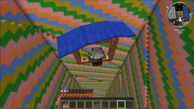 Parachute 2017 for MCPE apk screenshot