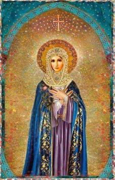 Prayer to the Mother of God poster