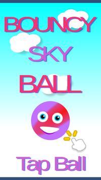 Bouncy Sky Ball poster