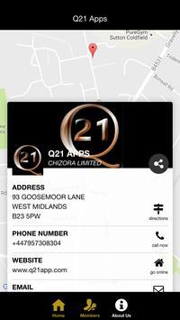 Q21 Apps CRM apk screenshot