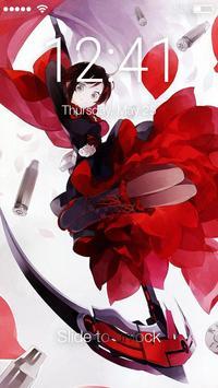 RWBY Anime Fun Lock App poster
