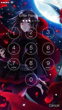 RWBY Anime Fun Lock App screenshot 1
