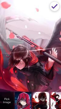 RWBY Anime Fun Lock App screenshot 2