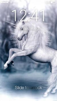 Unicorn Magic Art App Lock poster