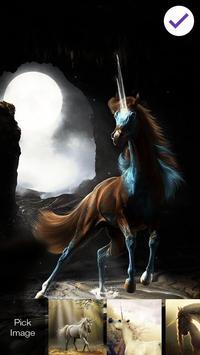 Unicorn Magic Art App Lock apk screenshot