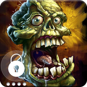 Zombie Dead Brainless Art  HD Security Screen Lock icon