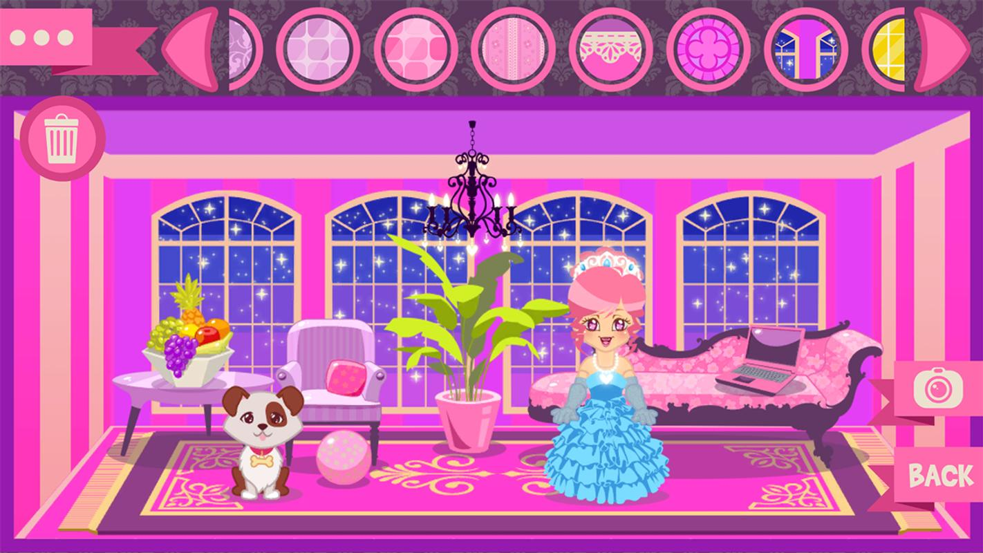 Dollhouse Room Makeover Games