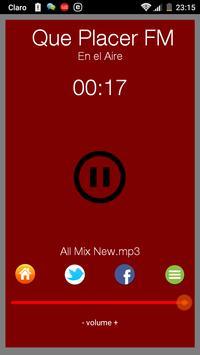 Que Placer FM apk screenshot