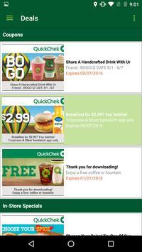 QuickChek Deals apk screenshot