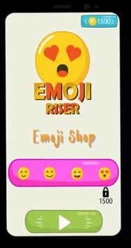 Emoji Riser! Rise Up on Sky screenshot 1
