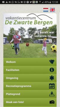 Zwarte Bergen poster