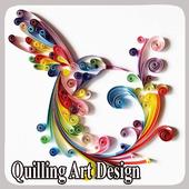 Quilling Art Design icon