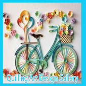 Quilling Art Design Gallery icon