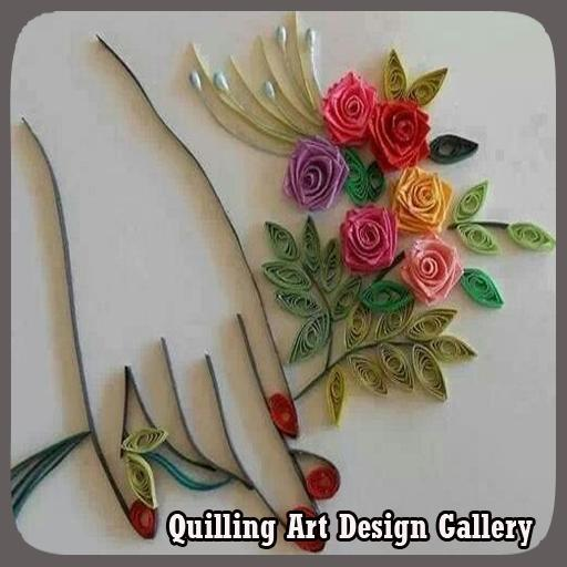 Quilling Art Design Gallery poster