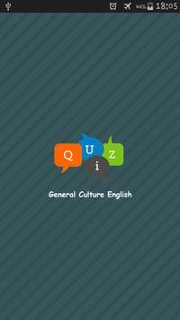 Quiz General Culture English poster