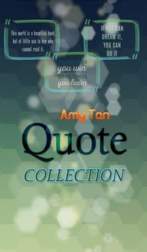 Amy Tan Quotes Collection poster