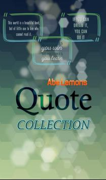 Abe Lemons Quotes Collection poster