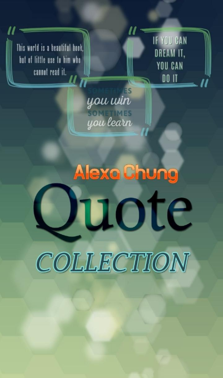 Alexa Chung Quotes Collection for Android - APK Download