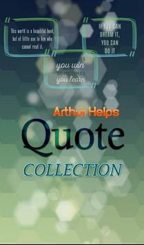 Arthur Helps Quotes Collection poster