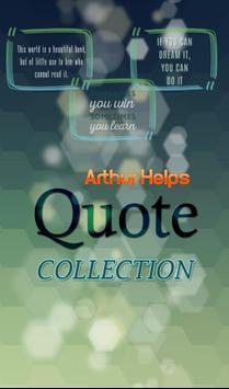 Arthur Helps Quotes Collection apk screenshot