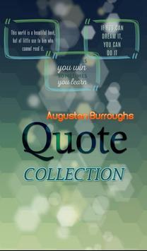 Augusten Burroughs Quotes poster