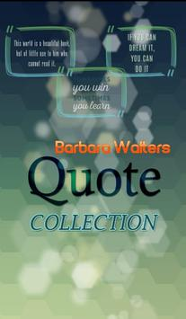 Barbara Walters Quotes poster