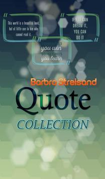 Barbra Streisand Quotes poster