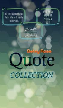 Betsy Ross Quotes Collection poster