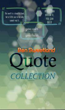 Ben Sweetland Quotes poster