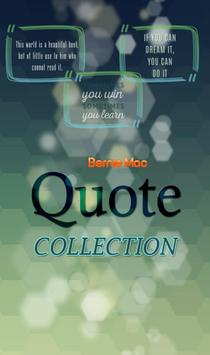 Bernie Mac Quotes Collection poster