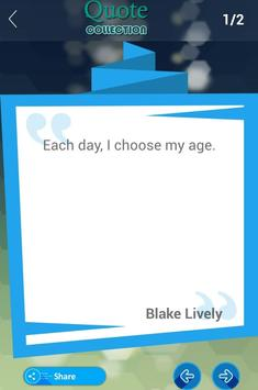 Blake Lively Quotes Collection apk screenshot