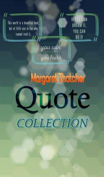 Margaret Thatcher Quotes poster