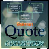 Neil Gaiman Quotes Collection icon