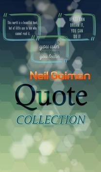 Neil Gaiman Quotes Collection poster