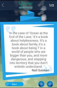 Neil Gaiman Quotes Collection apk screenshot