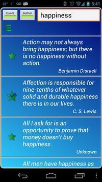 Happiness Quotes apk screenshot