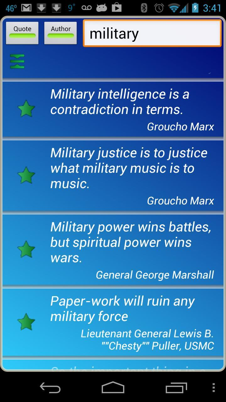 Military Quotes for Android - APK Download