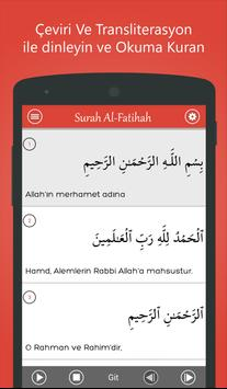 Kur'ân-ı Kerim – MP3 Quran apk screenshot