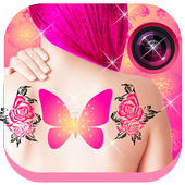 💟Tattoo Me: Girls Tattoo Design &Tattoo Simulator icon