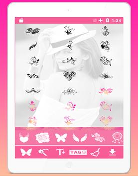 💟Tattoo Me: Girls Tattoo Design &Tattoo Simulator screenshot 10