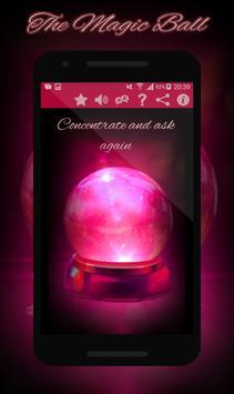 ♛ Magic Crystal Ball - Fortune Teller ♛ poster