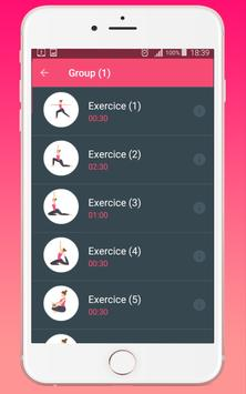 Daily Yoga Fitness Workout apk screenshot