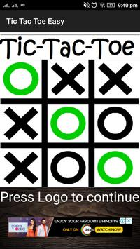 Tic Tac Toe Easy poster
