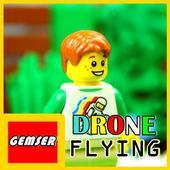 Gemser Lego Drone Flying icon