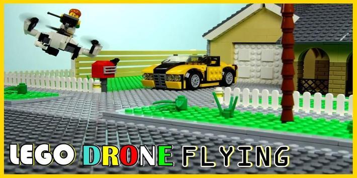 Gemser Lego Drone Flying poster